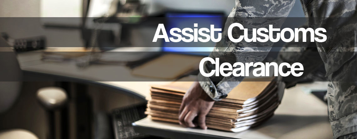 Assist Customs Clearance